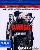 Django Unchained (2012) (Blu-ray) (Hong Kong Version)