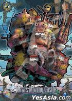 Howl's Moving Castle : Castle of Dusk (Art Crystal Jigsaw Puzzle 208 Pieces) (208-AC57)