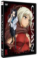 Canaan (DVD) (Vol.4) (Japan Version)