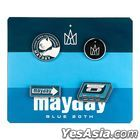 Mayday Just Rock It 2020 BLUE - Mayday Blue 20th Badge Set