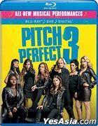 Pitch Perfect 3 (2017) (Blu-ray + DVD + Digital) (US Version)