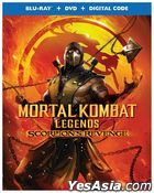 Mortal Kombat Legends: Scorpions Revenge (2020) (Blu-ray + DVD + Digital Code) (US Version)