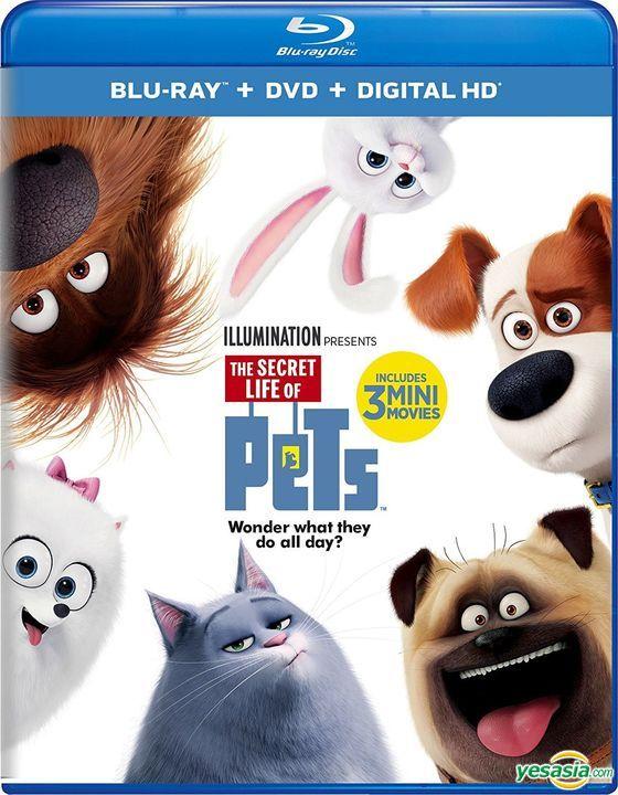 Yesasia The Secret Life Of Pets 2016 Blu Ray Dvd Digital Hd Us Versioin Blu Ray Yarrow Cheney Chris Renaud Universal Studios Home Video Western World Movies Videos Free Shipping