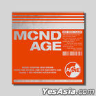MCND Mini Album Vol. 2 - MCND AGE (HIT Version) + Poster in Tube (HIT Version)