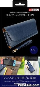Nintendo Switch PU Leather Hard Pouch SW (Bordeaux) (日本版)