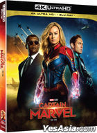 Captain Marvel (4K Ultra HD + 2D Blu-ray) (2-Disc) (Korea Version)