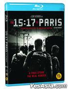 The 15:17 to Paris (Blu-ray) (Korea Version)