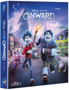 Onward (Blu-ray) (Steelbook Limited Edition) (Korea Version)