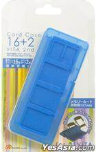 PSV カードケース16+2 VITA 2nd ブルー (日本版)