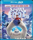 Smallfoot (2018) (Blu-ray) (2D + 3D) (Hong Kong Version)