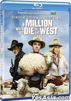 A Million Ways to Die in the West (2014) (Blu-ray) (Hong Kong Version)