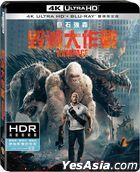 Rampage (2018) (4K Ultra HD + Blu-ray) (2-Disc Edition) (Taiwan Version)
