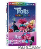 Trolls World Tour Double Pack: Troll + Troll World Tour (2DVD) (Limited Edition) (Korea Version)