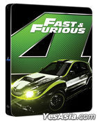 Fast & Furious (Blu-ray) (Steelbook Limited Edition) (Korea Version)