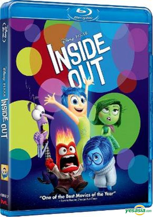 Yesasia Inside Out 2015 Blu Ray 2d Hong Kong Version Blu Ray Pete Docter Intercontinental Video Hk Western World Movies Videos Free Shipping North America Site