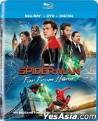 Spider-Man: Far From Home (2019) (Blu-ray + DVD + Digital) (US Version)