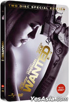 Wanted (DVD) (2 Disc) (Steelbook Case) (Korea Version)