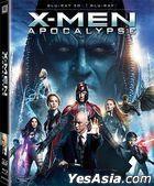 X-Men: Apocalypse (2016) (Blu-ray) (2D + 3D) (Hong Kong Version)