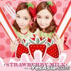 Crayon Pop - Strawberry Milk Mini Album + Poster In Tube