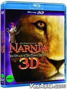 The Chronicles Of Narnia : The Voyage Of The Dawn Treader (Blu-ray) (3D) (Korea Version)