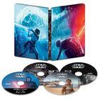 Star Wars: The Rise of Skywalker (4K Ultra HD MovieNEX + 4K Ultra HD + 3D Blu-ray + Blu-ray) (Steelbook) (Japan Version)