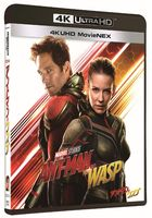 Ant-Man and the Wasp (4K Ultra HD MovieNEX + 4K Ultra HD + 3D + 2D Blu-ray) (Japan Version)