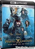 Pirates of the Caribbean: Dead Men Tell No Tales (2017) (4K Ultra HD + Blu-ray) (Hong Kong Version)