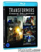 Transformers: 4-Movie Collection (Blu-ray) (4-Disc) (Korea Version)