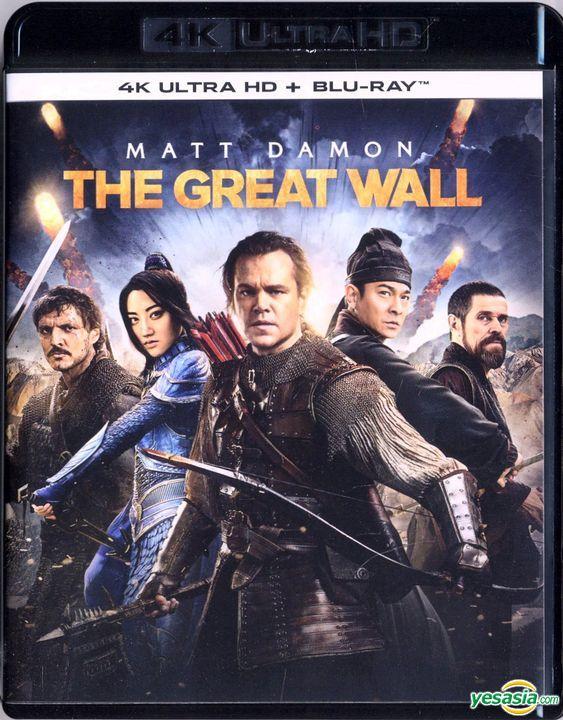 Yesasia The Great Wall 2016 4k Ultra Hd Blu Ray Hong Kong Version Blu Ray Matt Damon Zhang Yimou Intercontinental Video Hk Hong Kong Movies Videos Free Shipping