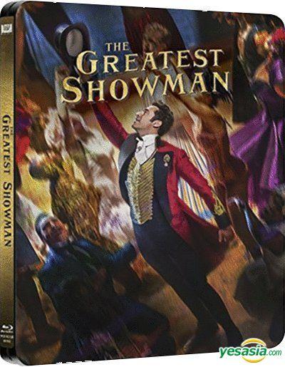 Yesasia The Greatest Showman 2017 Blu Ray Steelbook Hong Kong Version Blu Ray Hugh Jackman Michelle Williams 20th Century Fox Western World Movies Videos Free Shipping