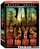 Bad Boys 3-Movie Collection (DVD) (Taiwan Version)