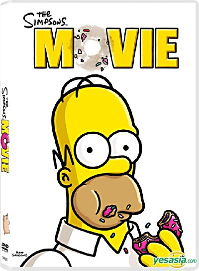Yesasia The Simpsons Movie 2007 Dvd Hong Kong Version Dvd Josie Ho Wyman Wong Deltamac Hk Western World Movies Videos Free Shipping