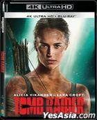 Tomb Raider (2018) (4K Ultra HD + Blu-ray) (Hong Kong Version)