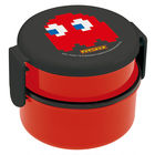 Pac-Man Round Food Box 500ml (with Fork) (B)