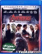 The Avengers 2: Age of Ultron (2015) (Blu-ray) (2D + 3D) (Collector's Edition) (Hong Kong Version)
