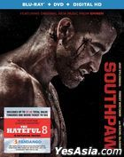 Southpaw (2015) (Blu-ray + DVD + Digital HD) (US Version)