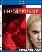 Unforgettable (2017) (Blu-ray) (Hong Kong Version)