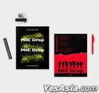 [BTS] MIC Drop_Magazine Note (Red)