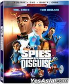 Spies in Disguise (2019) (Blu-ray + DVD + Digital) (US Version)