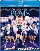 Poms (2019) (Blu-ray + DVD + Digital) (US Version)