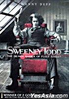 Sweeney Todd: The Demon Barber Of Fleet Street (DVD) (Hong Kong Version)