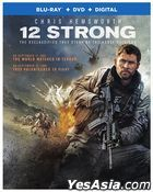 12 Strong (2018) (Blu-ray + DVD + Digital) (US Version)