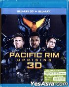 Pacific Rim Uprising (2018) (Blu-ray) (2D + 3D) (Hong Kong Version)