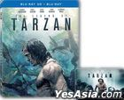 The Legend of Tarzan (2016) (Blu-ray) (2D + 3D) (Limited Steelbook Edition) (Hong Kong Version)