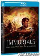 Immortals (2011) (Blu-ray) (Taiwan Version)
