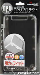 New 3DS LL TPU Protect (黑色) (日本版)