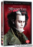 Sweeney Todd: The Demon Barber Of Fleet Street (DVD) (Korea Version)