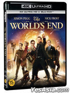 The World's End (4K Ultra HD + Blu-ray) (2-Disc) (Korea Version)