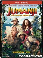 Jumanji: Welcome to the Jungle (2017) (DVD + Digital) (US Version)