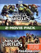 Teenage Mutant Ninja Turtles: Out Of The Shadows + Teenage Mutant Ninja Turtles 2-Movie Pack (Blu-ray) (Hong Kong Version)